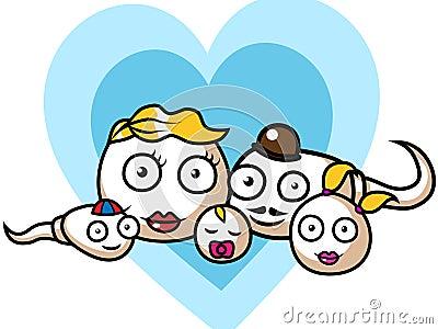 Sperm and egg family