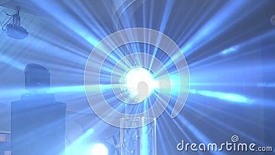 Spettacolo di luci di concerto stock footage