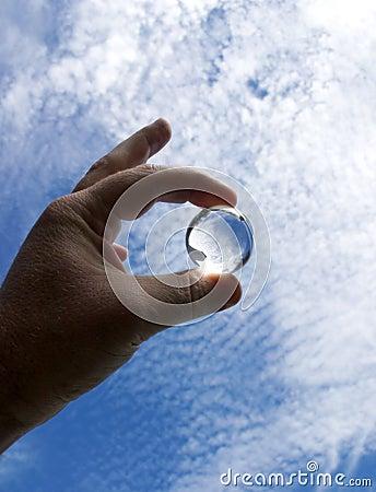 Sphère en cristal 1