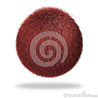 Sphère pelucheuse