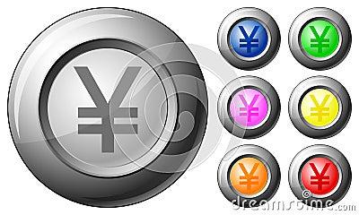 Sphere button yen