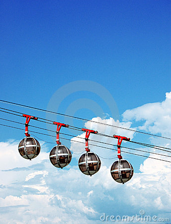 Free Sphere Cable Cars Stock Photography - 1409522