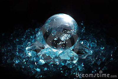 Sphere and crystals