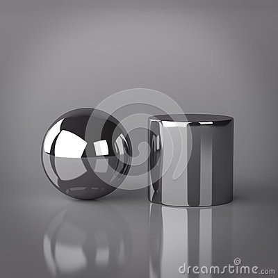 Sphere and Cylinder
