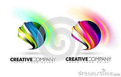 Sphere Logo Stock Photo