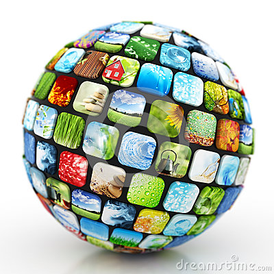 Free Sphere Of Images Stock Photography - 44140012