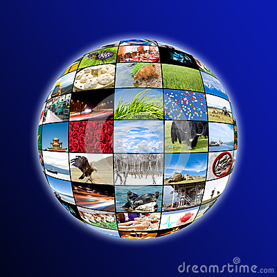 Sphere of photos