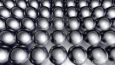 Spheres Background
