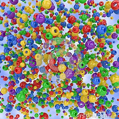 Spheres background
