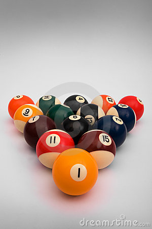 Spheres for game in billiards