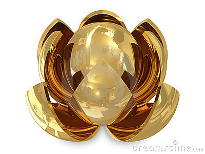 Spheres golden