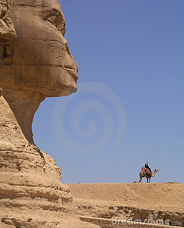 Free Sphinx And Camel Royalty Free Stock Image - 4599916