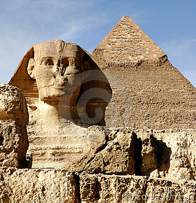 Free Sphinx At Giza Royalty Free Stock Image - 732186