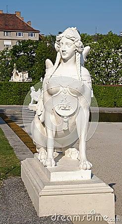 Sphinx in the Belveder