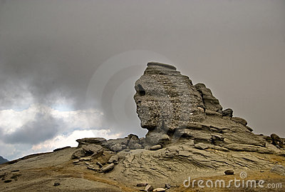 Sphinx from Bucegi