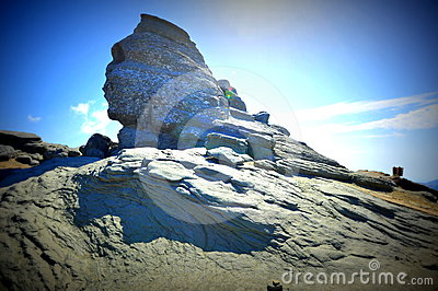 Sphinx of Bucegi