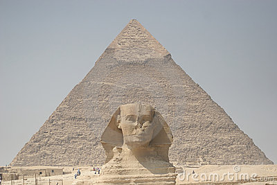 Sphinx and Chefren s Pyramid