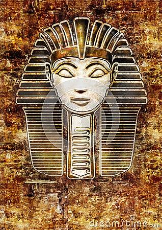 Sphinx Head - Hatshepsut Pharaoh