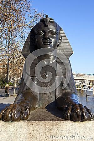 Sphinx on London Embankment