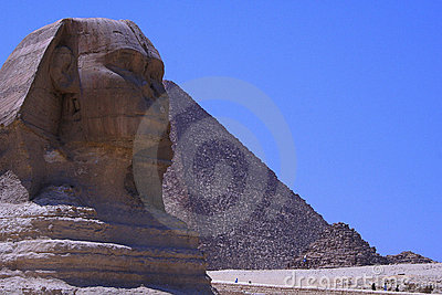 sphinx & Pyramid of egypt