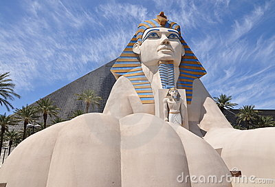 Sphinx replica Editorial Stock Image