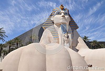 Sphinx replica Editorial Stock Image