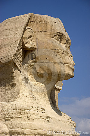 Free Sphinx Sideview Closeup, Cairo, Egypt Travel Royalty Free Stock Photography - 11278937