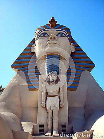 Sphinx statue, Luxor Hotel, Las Vegas Editorial Stock Photo