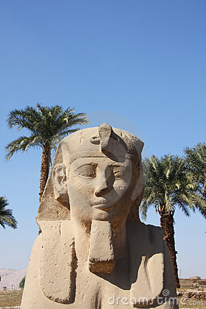 Sphinx Temple of Luxor Egypt