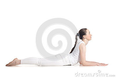 sphinx yoga pose stock photo  image 57183983