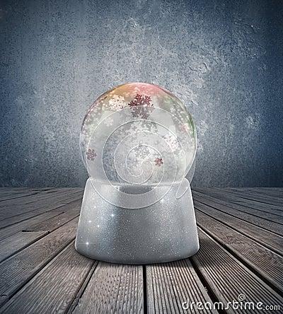 Sphère de neige
