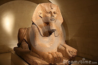 Sphynx at the Louvre