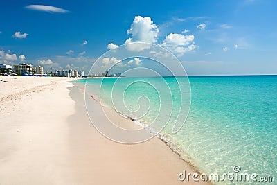 Spiaggia del sud Miami