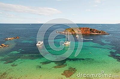 Spiaggia della Mallorca - portali Nous