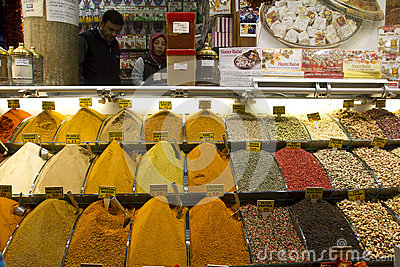 The Spice Bazaar Editorial Photo