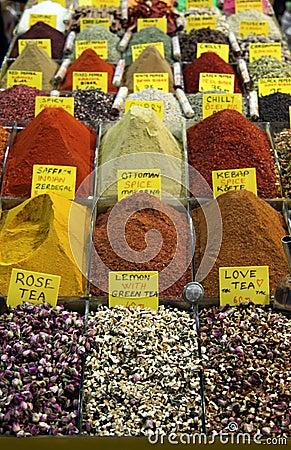 Spice Bazaar in istanbul.