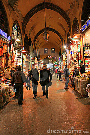 Spice Bazaar,Istanbul,Turkey Editorial Stock Image