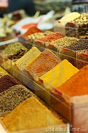 Spice of Egyptian bazaar of spice