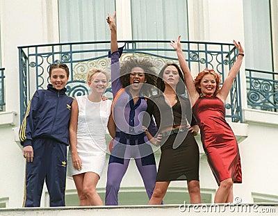 Spice Girls Editorial Stock Photo