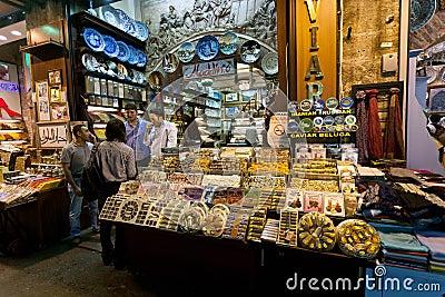 Spice Market - Istanbul Editorial Stock Photo