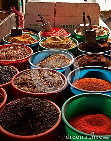 Spice market in Nairobi