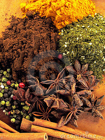 Free Spice Mix 5 Stock Photo - 4242330