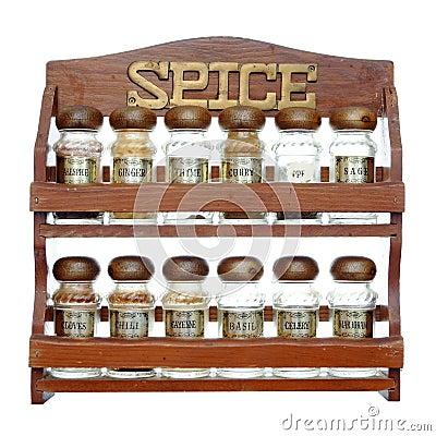 Free Spice Rack Stock Image - 15598481
