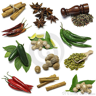 Free Spice Sampler Stock Image - 6738221