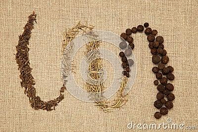 Spice variation arranged.