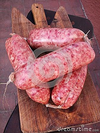 Spiced sausage cotechino