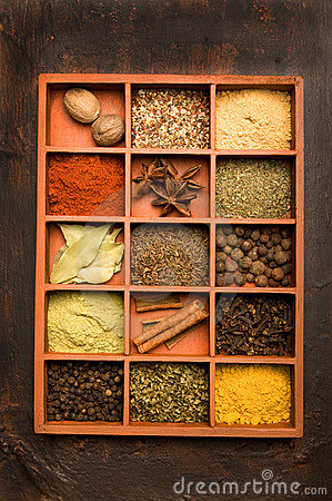Free Spices Royalty Free Stock Photos - 10635298