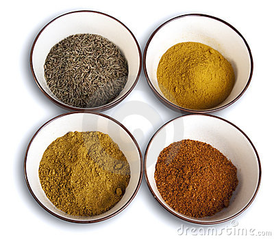 Spices stock photography image 10873692 for 4 spice indian cuisine