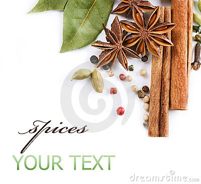 Free Spices Royalty Free Stock Photography - 15386227