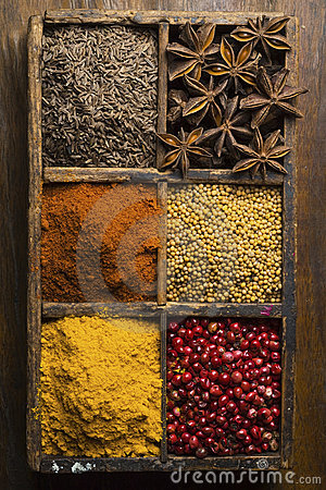 Free Spices Royalty Free Stock Images - 8937829